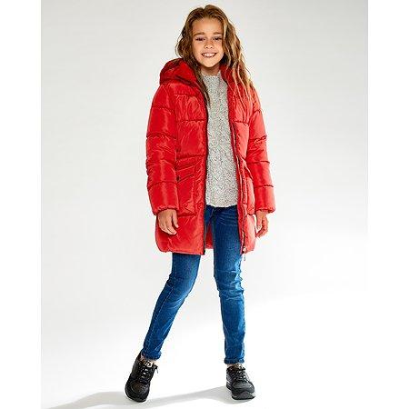 Пальто Futurino красное