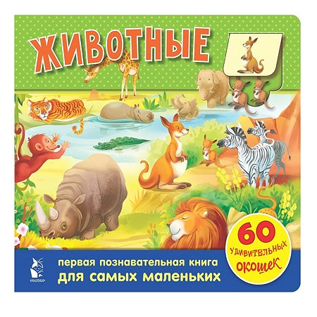 Книга АСТ Животные 60 удивительных окошек