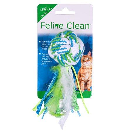 Игрушка для кошек AROMADOG Feline Clean Dental Мячик WB23555