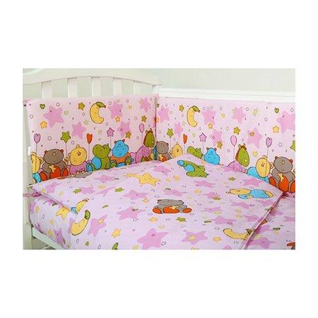 Комплект в кроватку ОТК 6 предметов в ассортименте