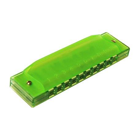 Гармошка губная Kids Harmony Зеленый MH107