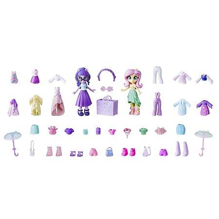 Набор игровой MLP Equestria Girls Мини-кукла Твайлайт и Флаттершай E4273EU4