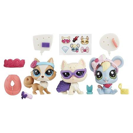 Игровой набор Littlest Pet Shop Зверюшки-модницы в ассортименте