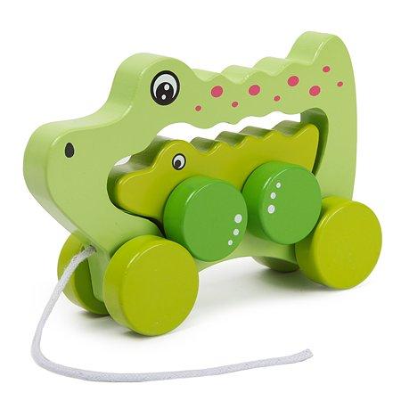 Каталка BabyGo Крокодил 2в1 OC-RY91M2441