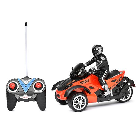 Трицикл на радиоуправлении Mioshi Экстрим 28 см Оранжевый