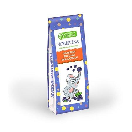 Мармелад Лакомства для здоровья желейный черничка 105г
