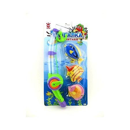 Рыбалка магнитная Top Toys рыбки (свет,звук)