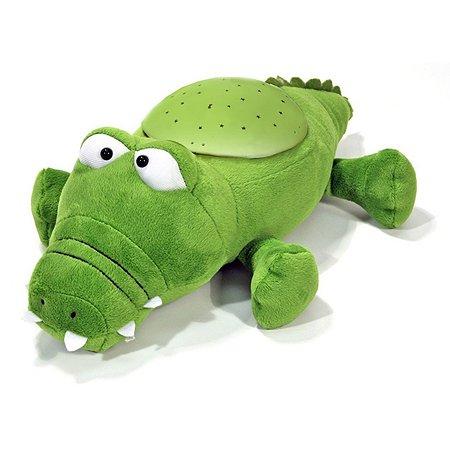 Ночник Cloud b Звездный крокодильчик Зеленый