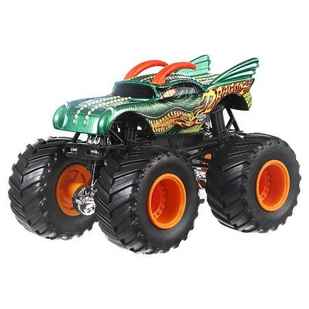 Машина Hot Wheels 1:64 Monster Jam Dragon DRR59