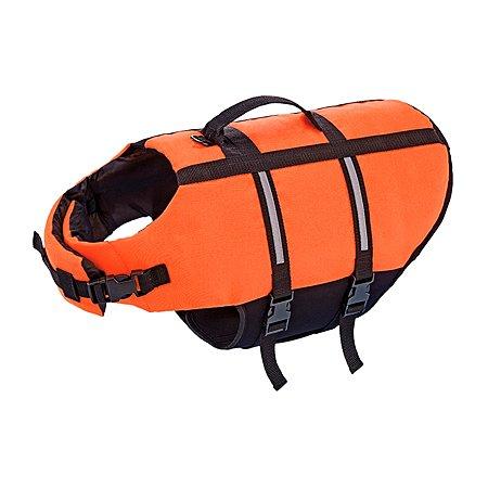 Жилет для собак Nobby Dog Buoyancy Aid S плавательный Оранжевый