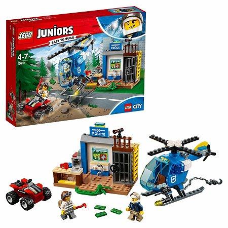 Конструктор LEGO Погоня горной полиции Juniors (10751)