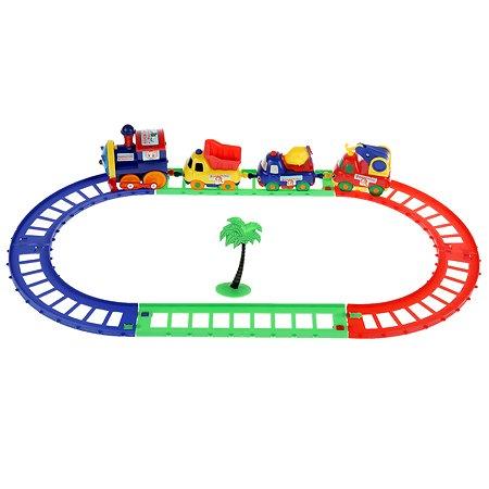 Игрушка Играем вместе Железная дорога Паровозик из Ромашкова 203634