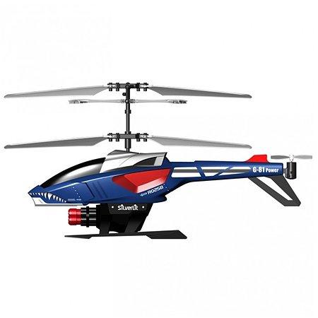 Вертолет р/у Silverlit Heli Blaster 21 см (стреляет ракетами) в ассортименте