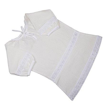 Рубашечка BabyEdel крестильная 15500