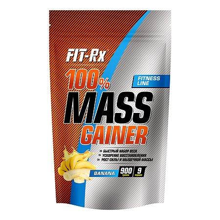 Концентрат Fit-Rx Белковый коктель Масс Гейнер банан 900г