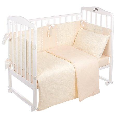 Комплект в кроватку Sweet Baby 4предмета Venere Beige Бежевый