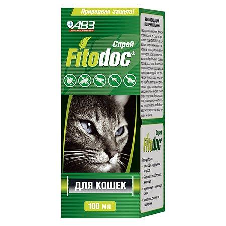 Спрей для кошек Фитодок репеллентный 100мл