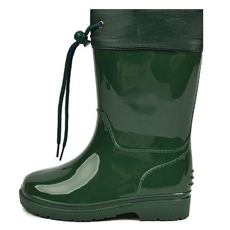 Резиновые сапоги Wappo зелёные