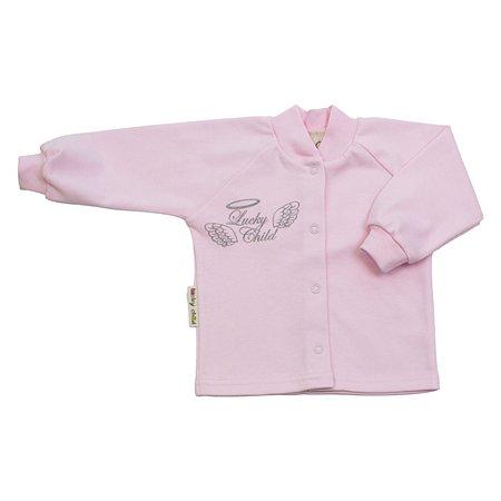Кофточка Lucky Child розовая