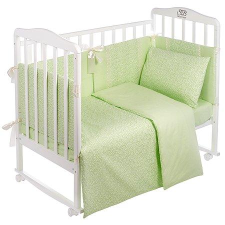 Комплект в кроватку Sweet Baby 4предмета Venere Verde Светло-зеленый