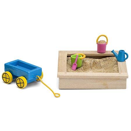 Набор игровой Lundby Смоланд Песочница с игрушками 6предметов LB_60509600