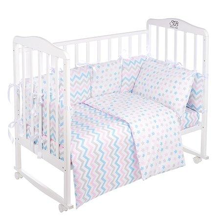 Комплект в кроватку Sweet Baby Anastasia 4предмета Bianco Белый