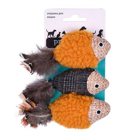 Игрушка для кошек AROMADOG Petpark Рыбки 3шт TOY82251