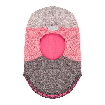 Шапка-шлем Lassie розовая