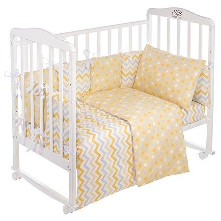Комплект в кроватку Sweet Baby Anastasia 4предмета Giallo Желтый