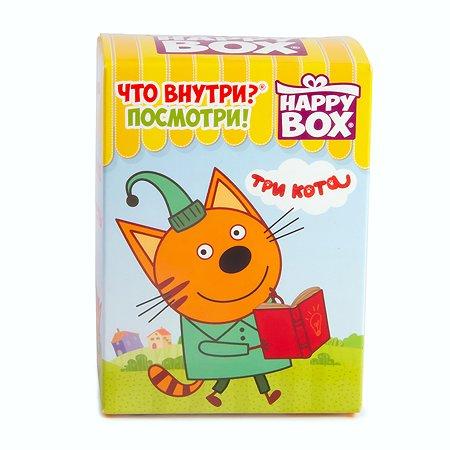 Леденцы Три кота Happy Box +игрушка в непрозрачной упаковке (Сюрприз) 18г с 3лет