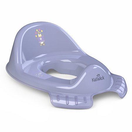 Накладка на унитаз KidWick Флиппер Фиолетовая