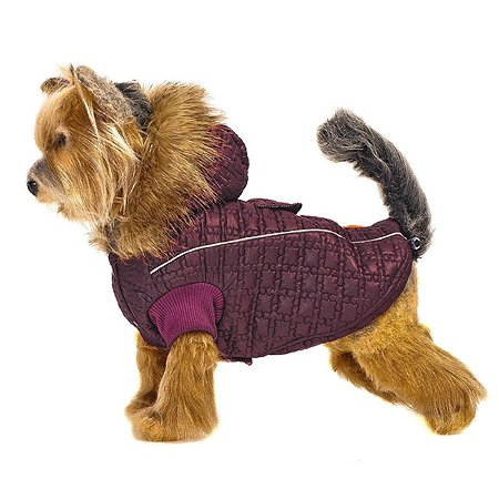 Куртка для собак Happy Puppy Зимняя вишня 3 Бордовый