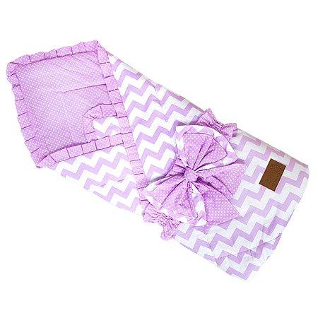 Одеяло на выписку AMARO BABY Уголки Розовый