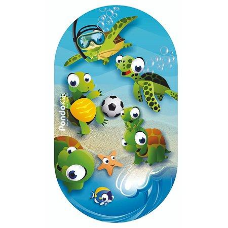Коврик для ванной Pondo Черепаха Голубой