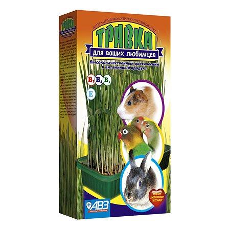 Пищевая добавка для животных АВЗ Травка Лоток для проращивания с питательным субстратом 14844