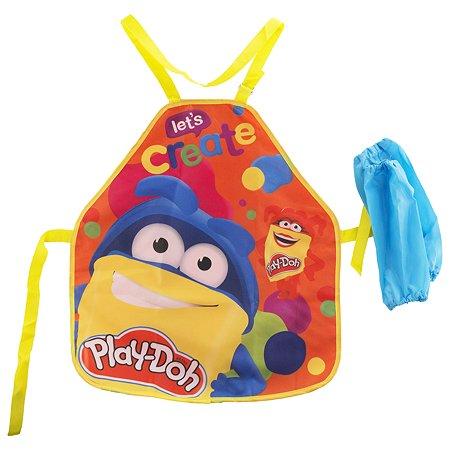 Фартук для труда Kinderline Play-Doh с нарукавниками PDFB-UT1-029MR