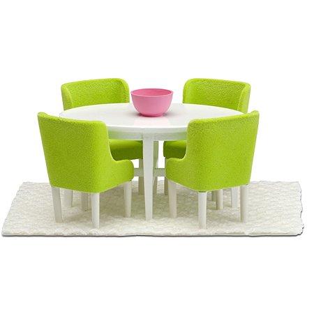 Мебель для домика Lundby Смоланд Обеденная группа 7предметов LB_60209000