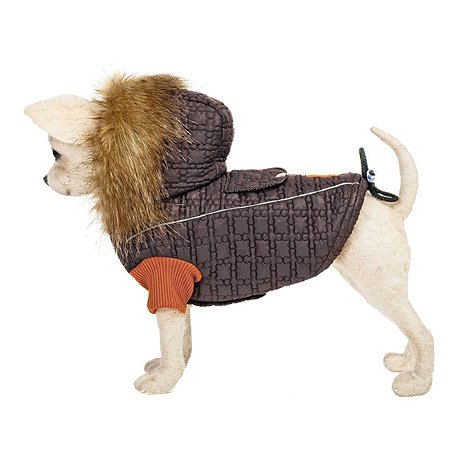 Куртка для собак Happy Puppy Северный полюс 2 Коричневый