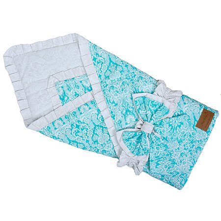 Одеяло на выписку AMARO BABY Люкс Мятный
