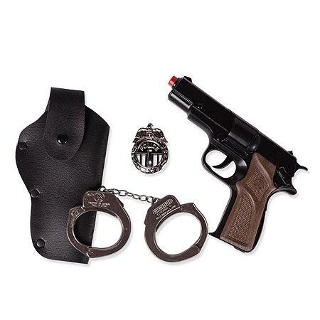 Набор полицейского Gonher для стрельбы (звук)