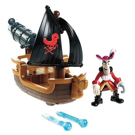 Лодка для пиратских сражений Jake Neverland Pirates Джейк и пираты Нетландии