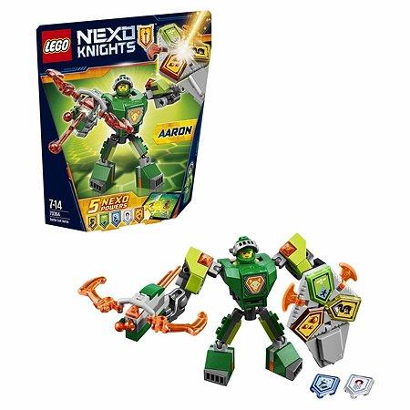 Конструктор LEGO Nexo Knights Боевые доспехи Аарона (70364)