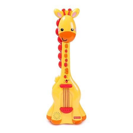 Музыкальная игрушка Fisher Price Гитара Жираф