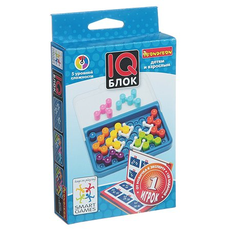 Игра логическая Bondibon IQ-Блок ВВ1354