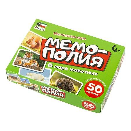 Игра настольная Attivio Мемополия Животные 02161