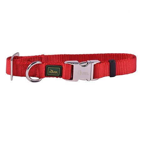 Ошейник для собак Hunter Alu-Strong M Красный