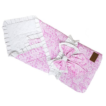 Одеяло на выписку AMARO BABY Люкс Розовый