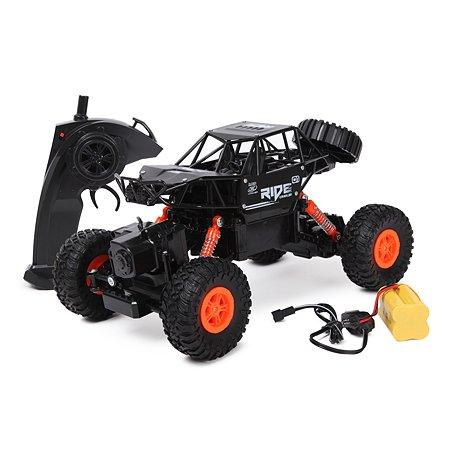 Машинка Mobicaro РУ 1:16 Амфибия Оранжевая 7133522