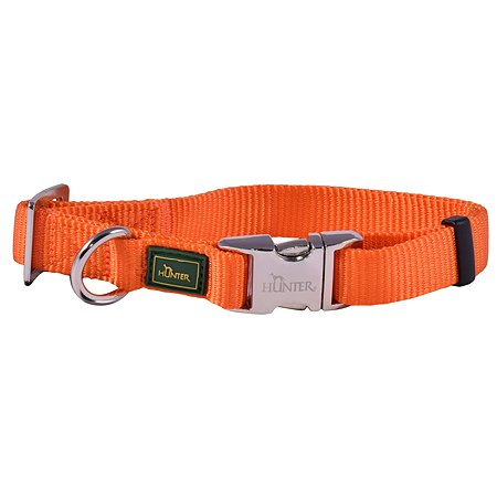 Ошейник для собак Hunter Alu-Strong M Оранжевый