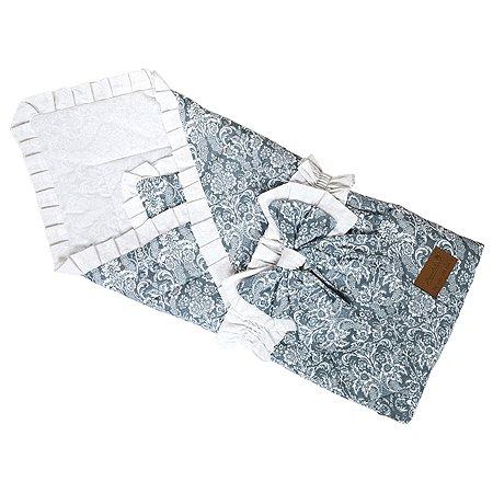Одеяло на выписку AMARO BABY Люкс Серый